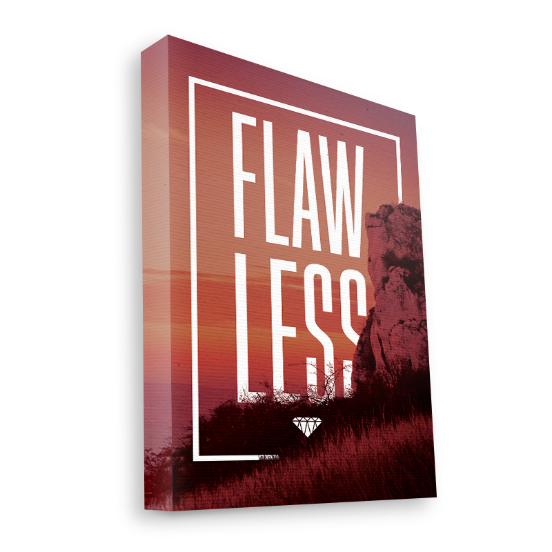 Flawless - Canvas Art 35x30