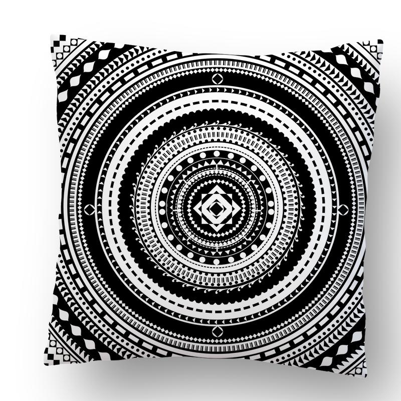 Perna decorativa - Circle Illusion