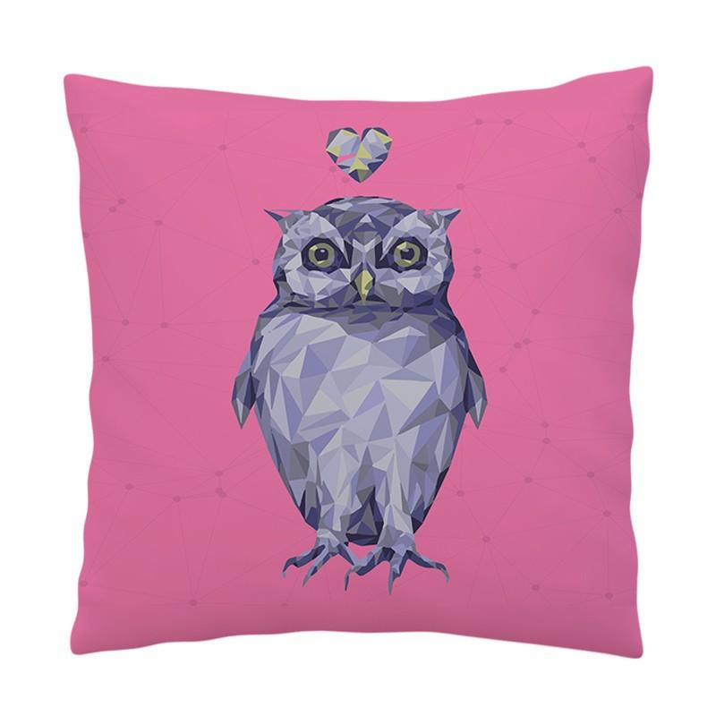 Perna decorativa - I Love Owls