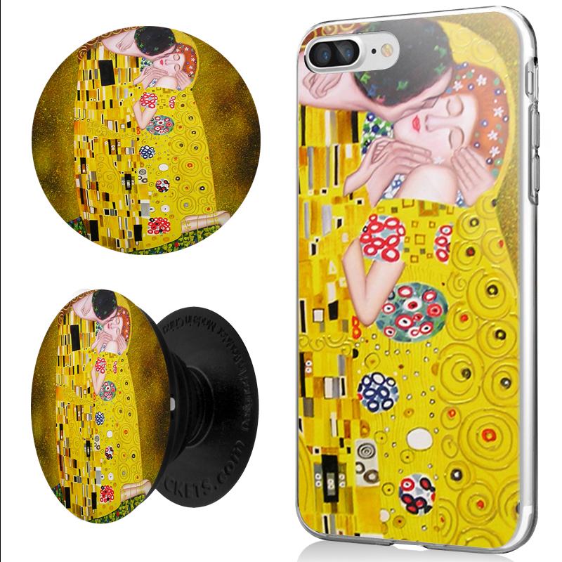 Combo Popsocket Gustav Klimt - The Kiss