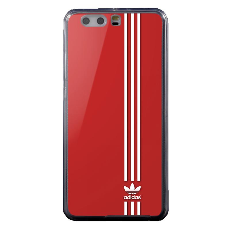 Red Adidas - Huawei P10 Plus Carcasa Transparenta Silicon