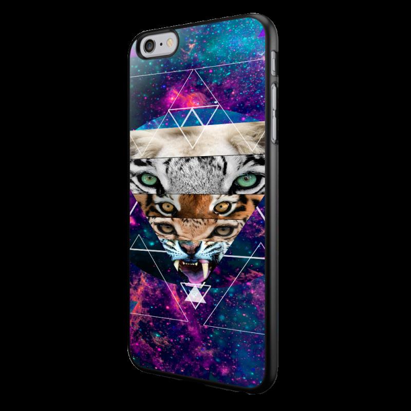 Tiger Swag - iPhone 6/6S Carcasa Neagra TPU