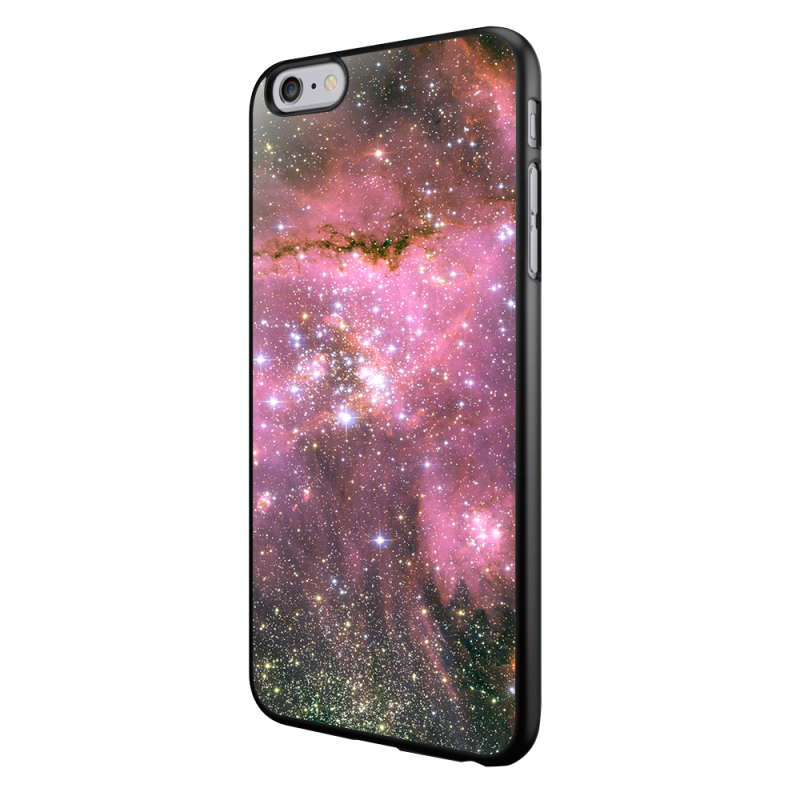 Light Up the Space - iPhone 6/6S Carcasa Neagra TPU