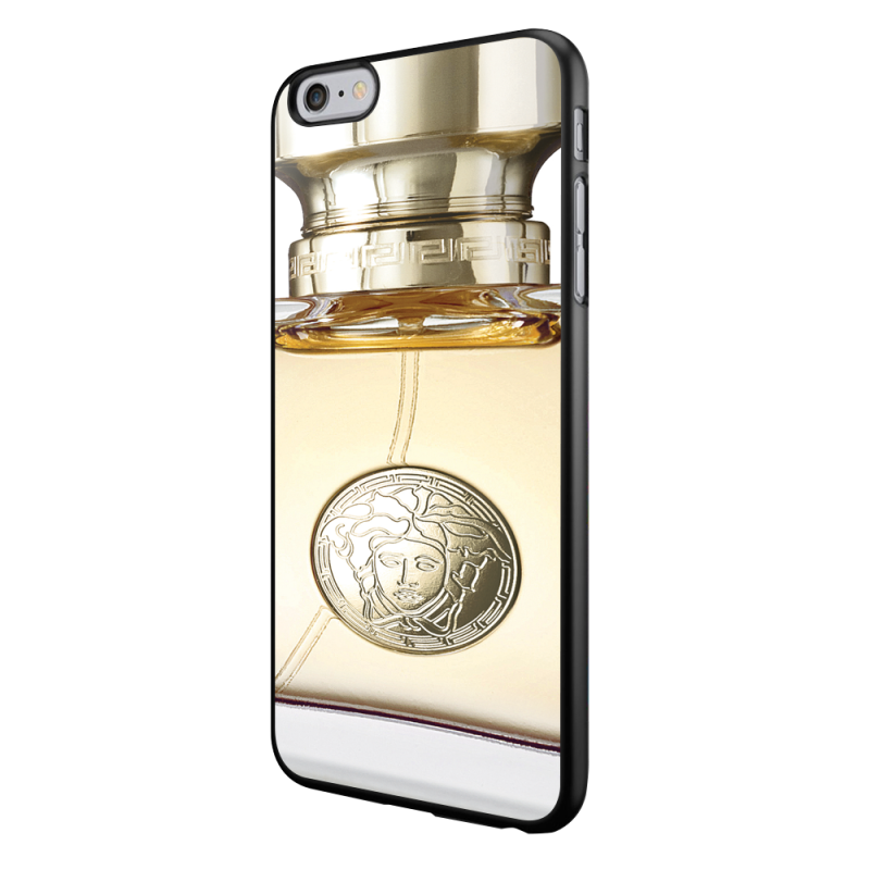 Versace Perfume - iPhone 6/6S Carcasa Neagra TPU