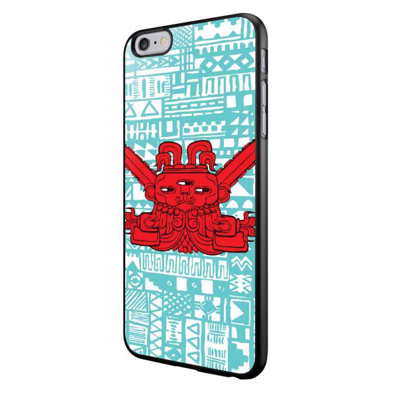 Red God - iPhone 6/6S Carcasa Neagra TPU