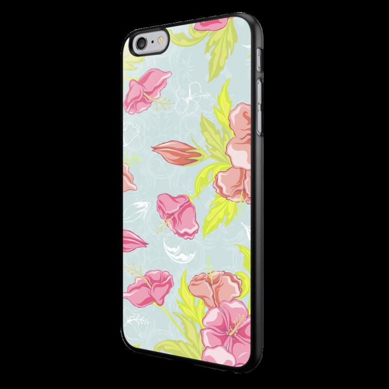 Vintage Blossom - iPhone 6/6S Carcasa Neagra TPU
