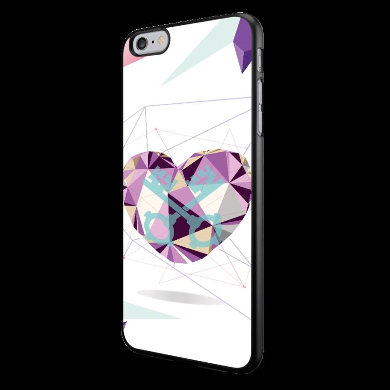 Love Keys - iPhone 6/6S Carcasa Neagra TPU
