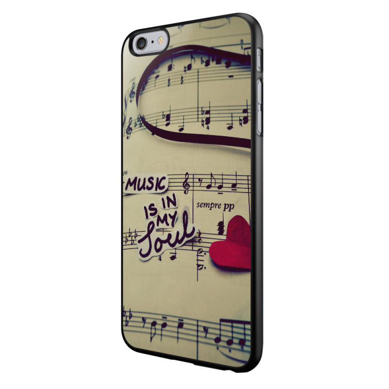 Soul Music - iPhone 6/6S Carcasa Neagra TPU