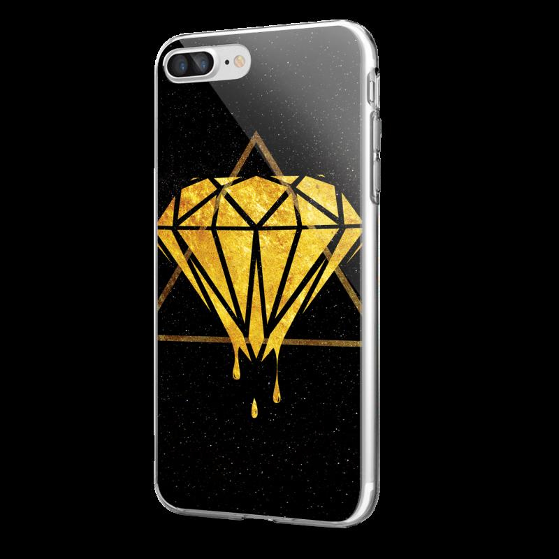 Diamond - iPhone 7 Plus / iPhone 8 Plus Carcasa Transparenta Silicon