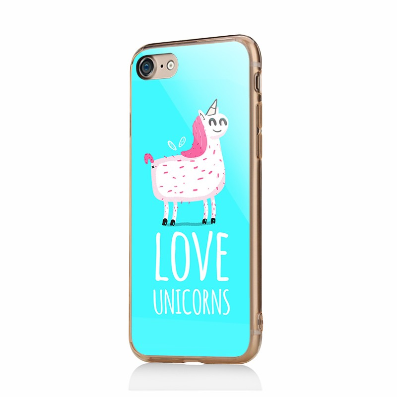 Love Unicorns - iPhone 6/6S Carcasa Plastic