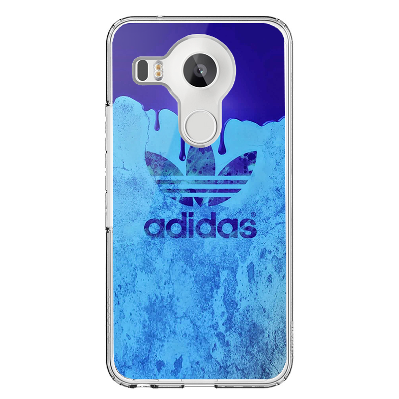 Dope Adidas - LG Nexus 5X Carcasa Transparenta Silicon