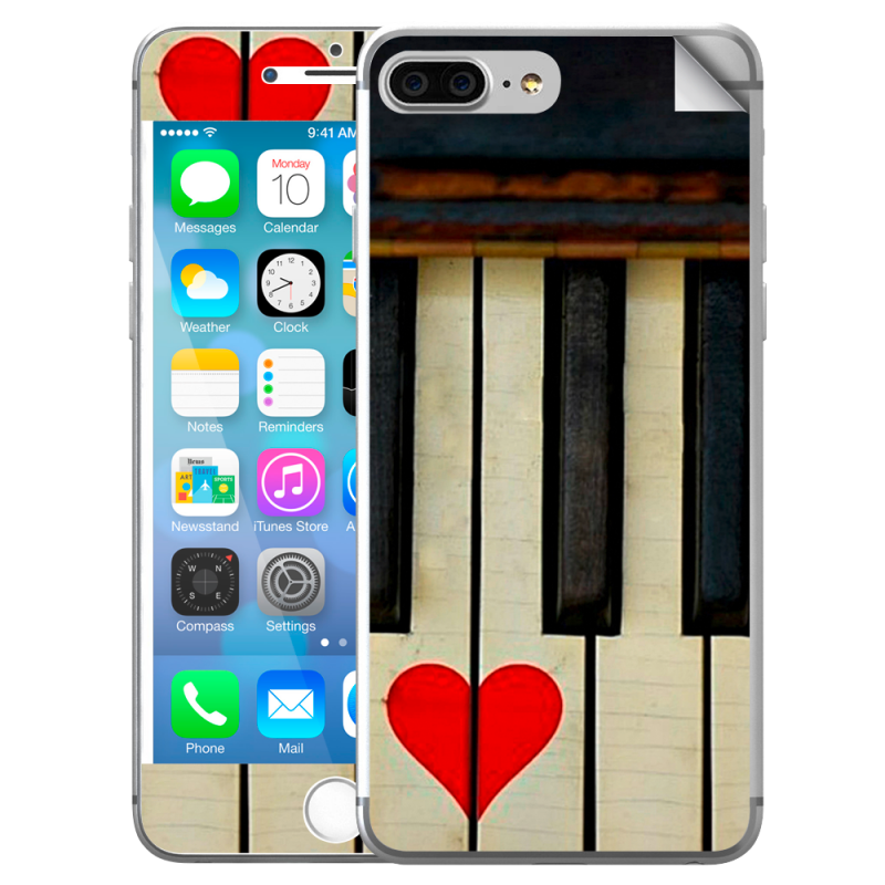 Piano Love - iPhone 7 Plus / iPhone 8 Plus Skin