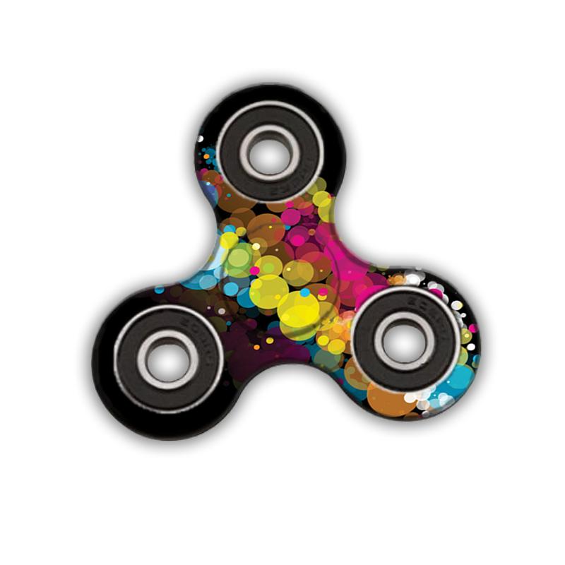 Fidget Spinner - Rainbow Bubbles