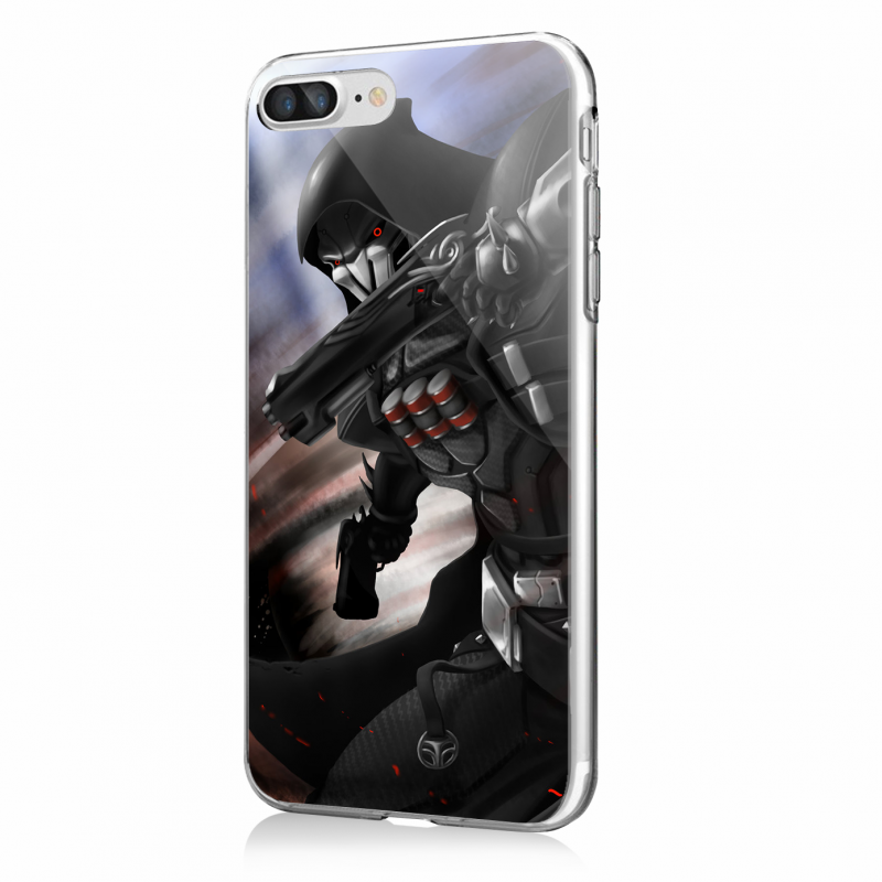 Reaper 2 - iPhone 7 Plus / iPhone 8 Plus Carcasa Transparenta Silicon