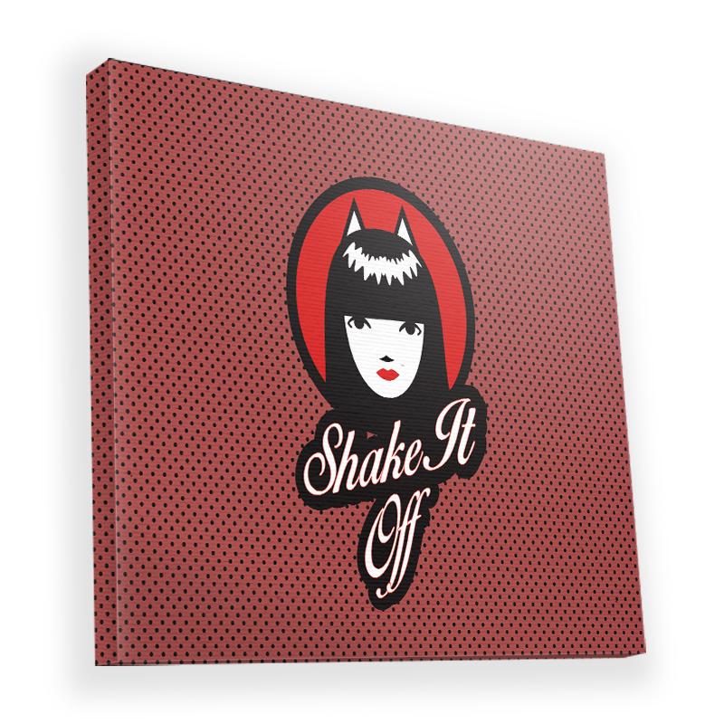 Shake it Off - Canvas Art 90x90