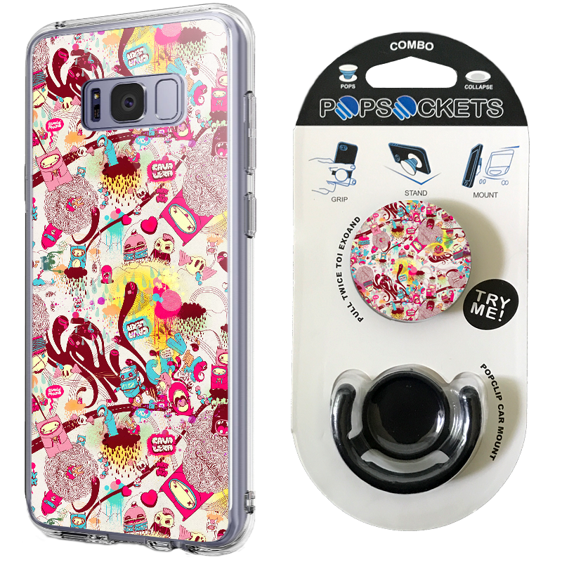 Combo Popsocket Urban Mess