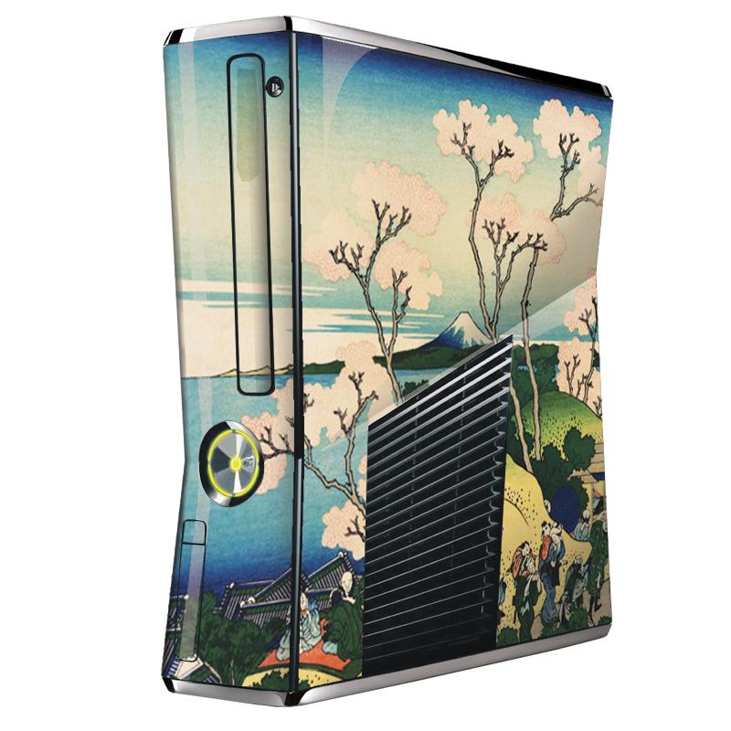 Hokusai - The Fuji from Gotenyama at Shinagawa on the Tokaido - Xbox 360 Slim Skin