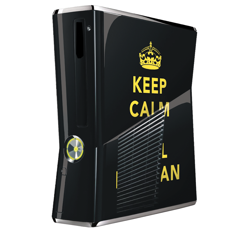Keep Calm and Call Batman - Xbox 360 Slim Skin