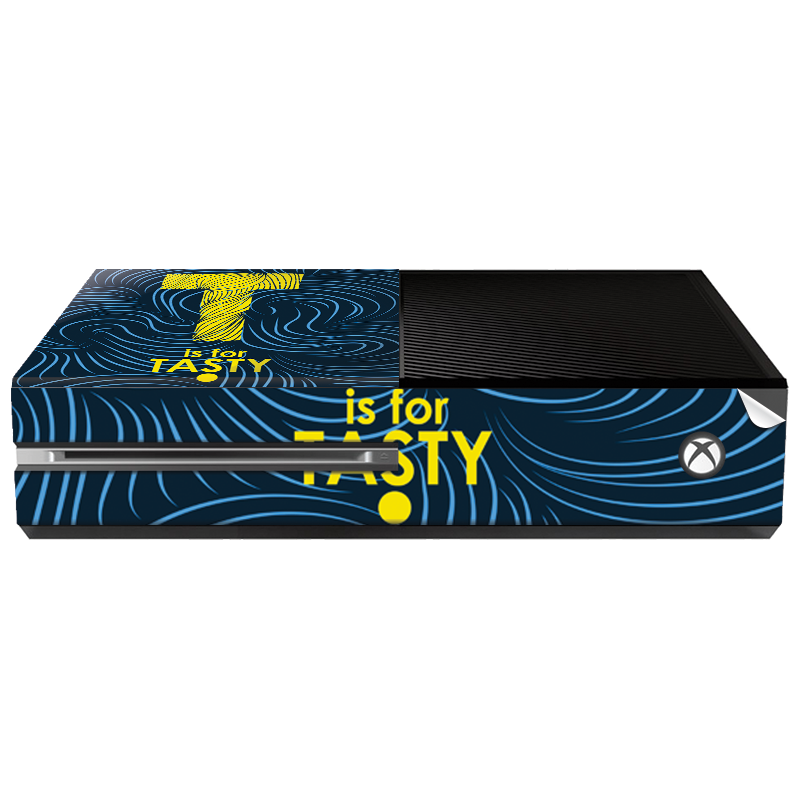 T is for Tasty - Xbox One Consola Skin