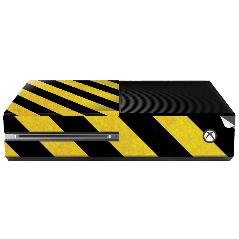 Caution - Xbox One Consola Skin