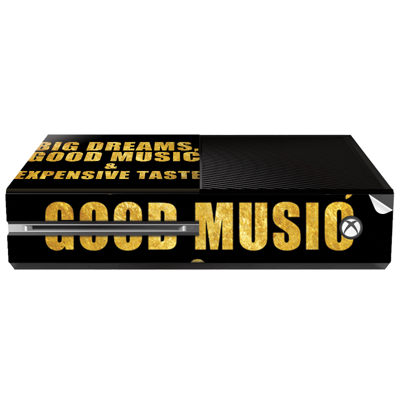 Good Music Black - Xbox One Consola Skin