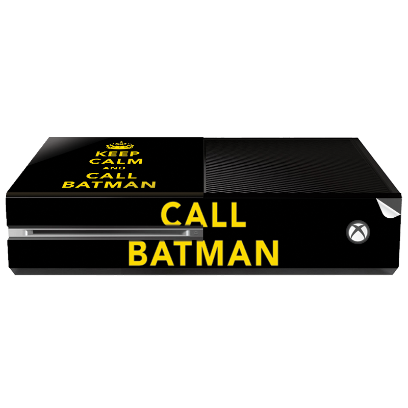 Keep Calm and Call Batman - Xbox One Consola Skin