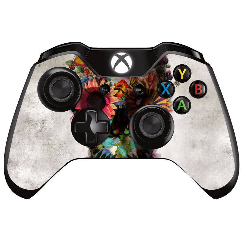 Spring skull - Xbox One Controller Skin