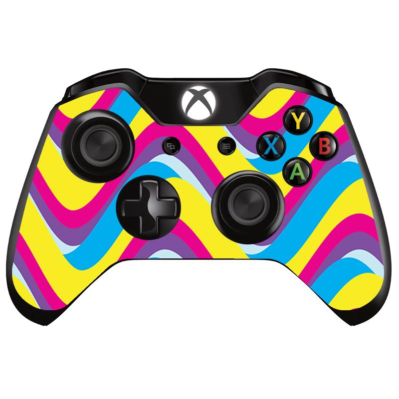 CMYK Waves - Xbox One Controller Skin