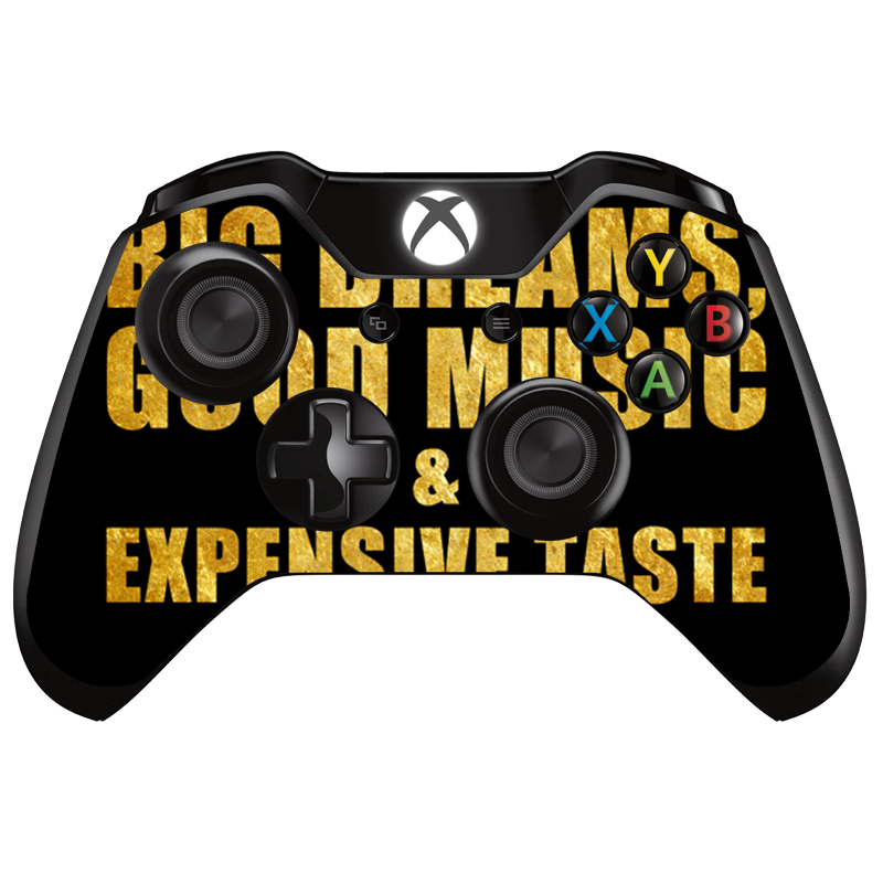 Good Music Black - Xbox One Controller Skin