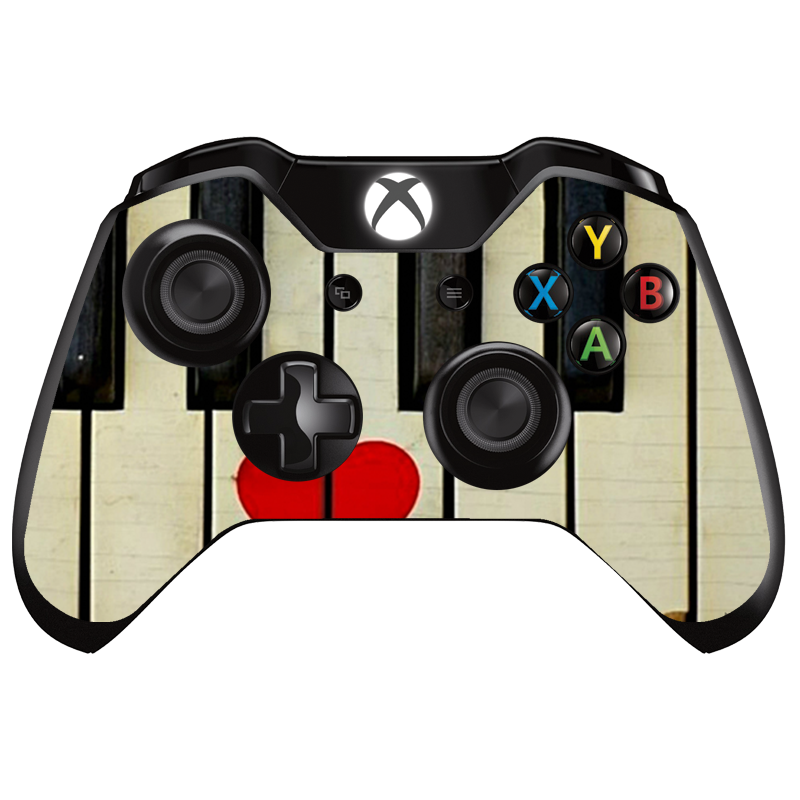 Piano Love - Xbox One Controller Skin