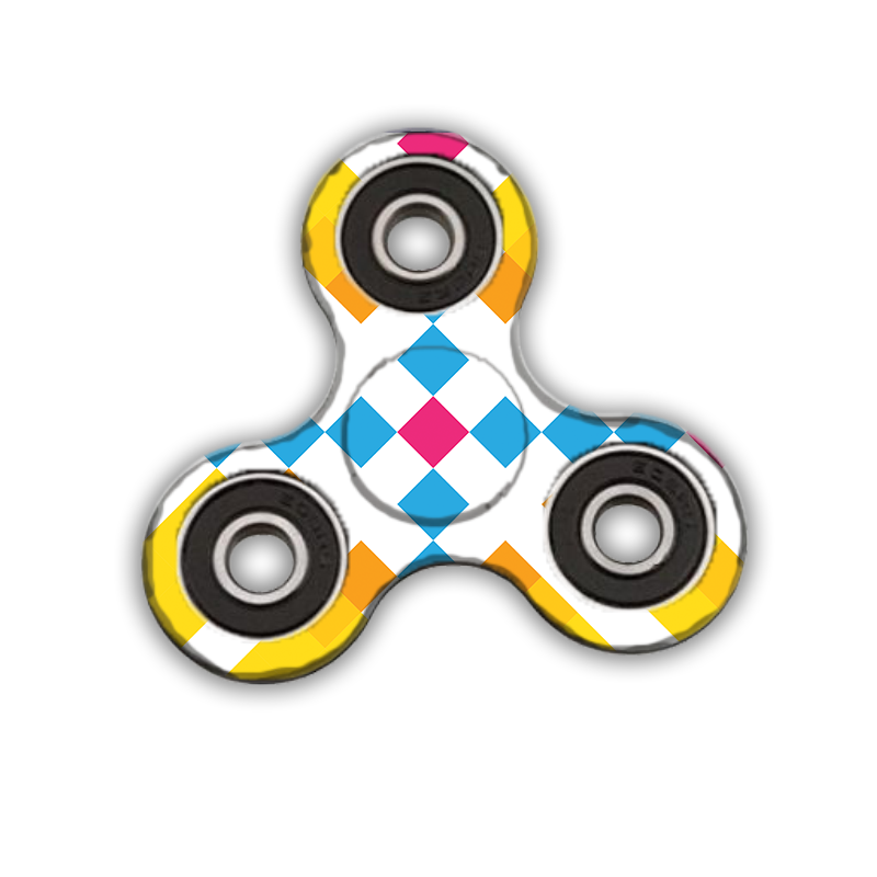 Fidget Spinner - Zoom in Pastel