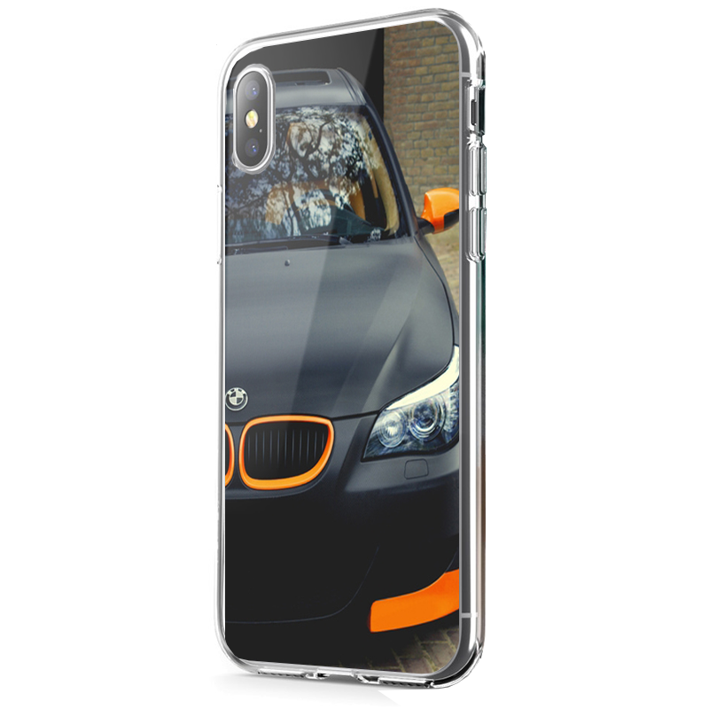 bmw iphone x carcasa transparenta silicon. Black Bedroom Furniture Sets. Home Design Ideas