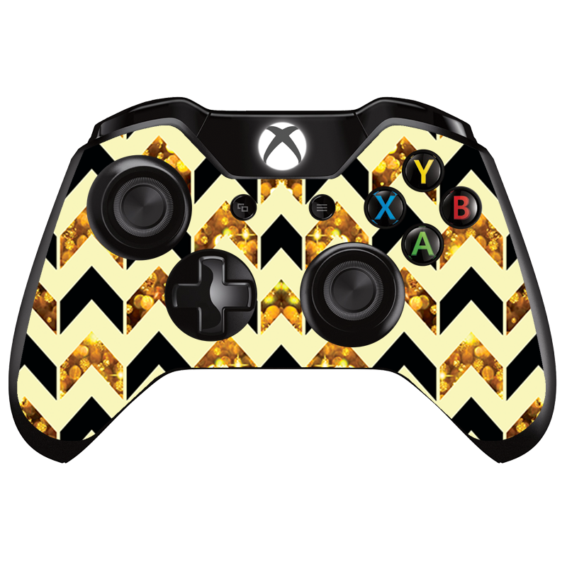 New Custom Gold Remote Controller Top Shell for Xbox One ... |Gold Xbox One Controller Skin