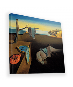Salvador Dali - The Persistence of Memory - Canvas Art 45x45