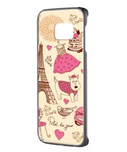 France - Samsung Galaxy S6 Edge Carcasa Plastic Premium
