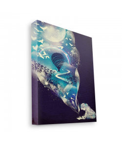 Blue Dream - Canvas Art 60x75