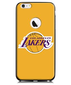Los Angeles Lakers - iPhone 6 Plus Carcasa TPU Premium Neagra