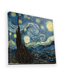 Van Gogh - Starry Night - Canvas Art 45x45