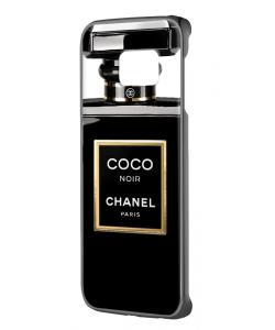 Coco Noir Perfume - Samsung Galaxy S6 Edge Carcasa Plastic Premiumc