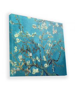 Van Gogh - Branches with Almond Blossom - Canvas Art 90x90