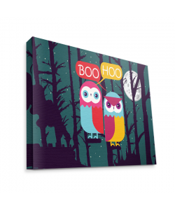 Boo Hoo 2 - Canvas Art 35x30