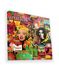 Pop Art Mix - Canvas Art 90x90