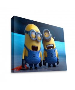 Funny Minions - Canvas Art 35x30