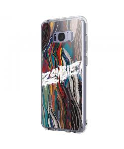 Zombie - Samsung Galaxy S8 Plus Carcasa Transparenta Silicon