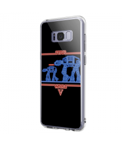 Star Wars - Samsung Galaxy S8 Plus Carcasa Transparenta Silicon