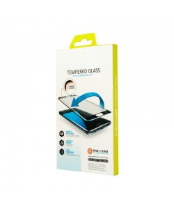 Folie Lemontti Sticla Curbata White (1 fata, 9H, 3D) - Samsung Galaxy S7 Edge