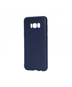 Just Must Candy Navy - Samsung Galaxy S8 Plus Carcasa Silicon