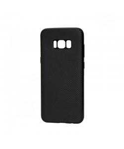 Just Must Carbon Soft Black - Samsung Galaxy S8 Plus Carcasa Silicon Negru (ultraslim 0.5 mm)
