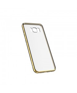 Devia Glitter Soft Champagne Gold - Samsung Galaxy S8 Plus Carcasa Silicon (margini electroplacate)