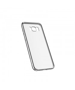 Devia Glitter Soft Silver - Samsung Galaxy S8 Plus Carcasa Silicon (margini electroplacate)